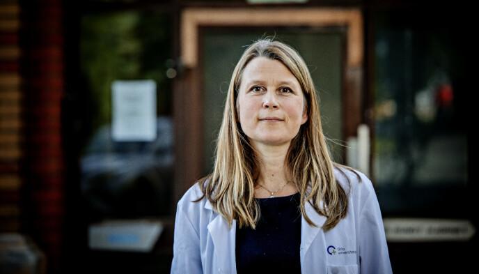 SETT ØKNING: Stine Knudsen Heier, spesialist i nevrologi, NevSom, Ullevål Sykehus.