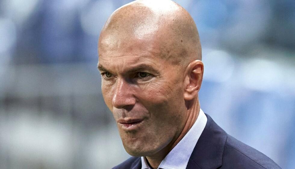 TØFT I KIEV: Zinédine Zidane. Foto: NTB