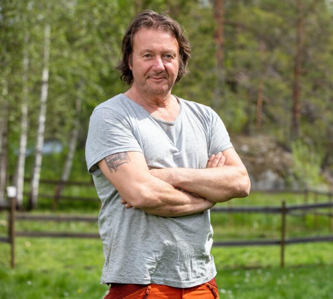 UMULIG Å SI NEI: Svein Østvik gleder seg stort til deltakelsen. Foto: Alex Iversen / TV 2