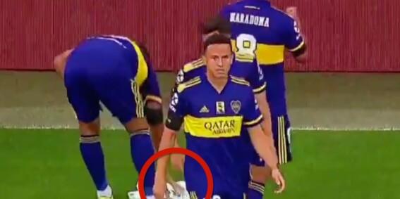 Image: Se hva fotballspillerne gjør for Maradonas datter