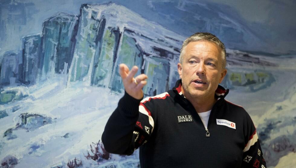 SIER NEI: Torbjørn Skogstad, leder for langrennskomiteen i Norges Skiforbund . Foto: Terje Pedersen / NTB