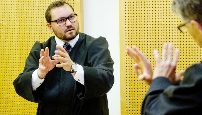 FORSVARER: Stian Mæland er forsvareren tild den 26 år gamle mannen. Foto: Jon Olav Nesvold / NTB