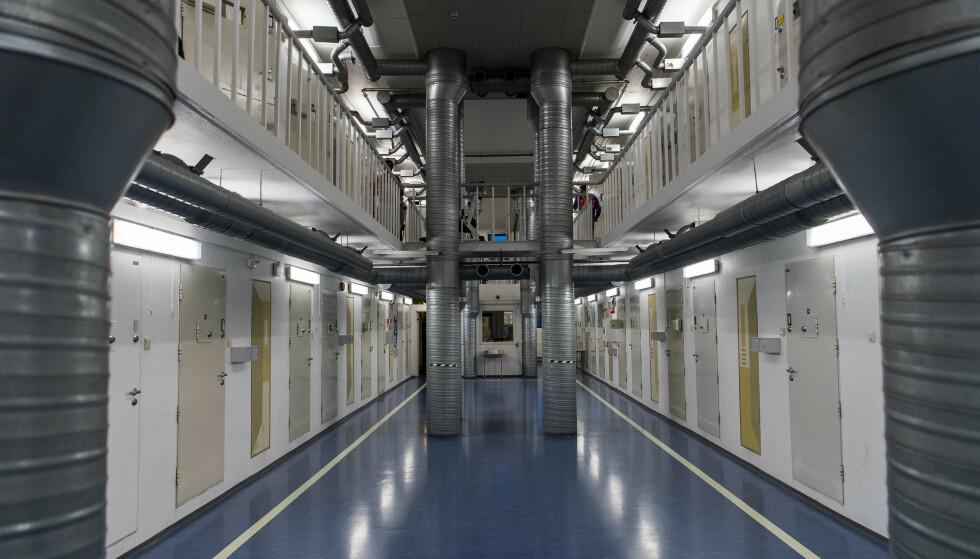 OSLO FENGSEL: Det var i Oslo fengsel på Grønland i Oslo at de to gjengmedlemmene barket sammen. Foto: Lars Eivind Bones / Dagbladet