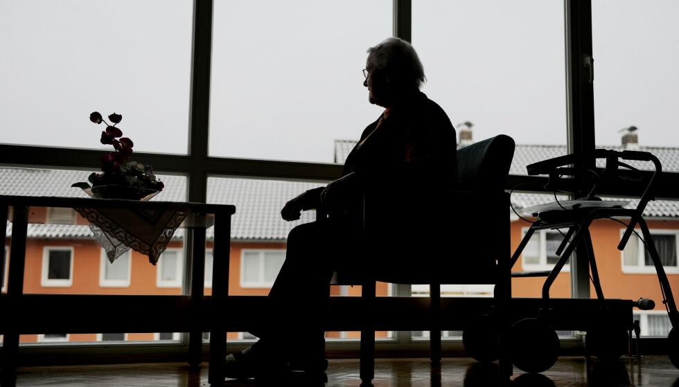 RESSURSMANGEL: Norges eldreomsorg tar ikke høyden for fremtidige utfordringer, skriver artikkelforfatterne. Foto: Frank May / NTB
