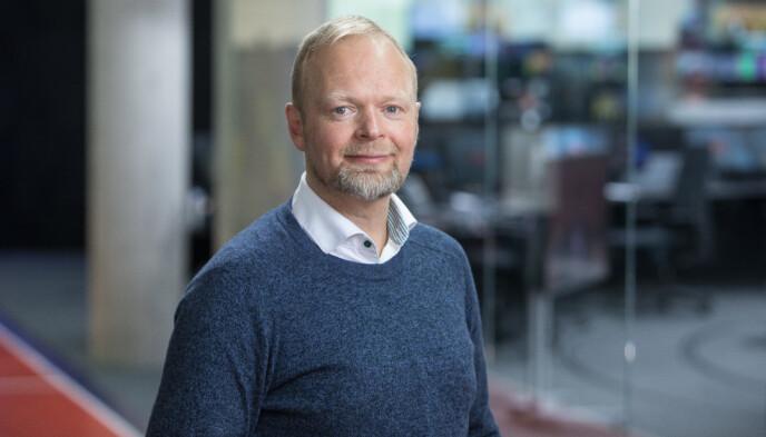 SPORTSREDAKTØR: Vegard Jansen Hagen. Foto: Eivind Senneset / Tv 2