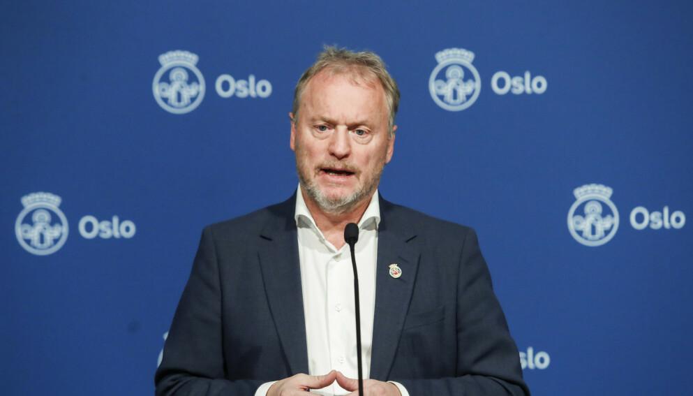 URIKTIG: - Johansen har tidligere manet til at by og land må stå sammen, og at vi ikke må føre en politikk som setter by opp mot land. Foto: Terje Bendiksby / NTB