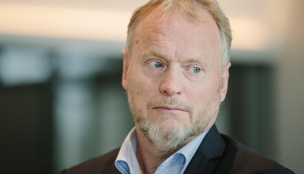 REAGERER: Byrådsleder Raymond Johansen i Oslo mener Senterpartiet driver markeringspolitikk når de som eneste parti kutter til storbyene. Foto: Jil Yngland / NTB