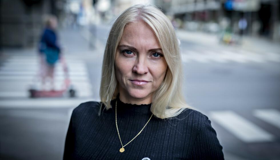 BEKYMRET: Lill Sverresdatter Larsen leder Sykepleierforbundet. Hun mener det haster å skaffe oversikt over hvilke ressurser som finnes i Norge inn mot intensivpleie. Foto: Bjørn Langsem / Dagbladet
