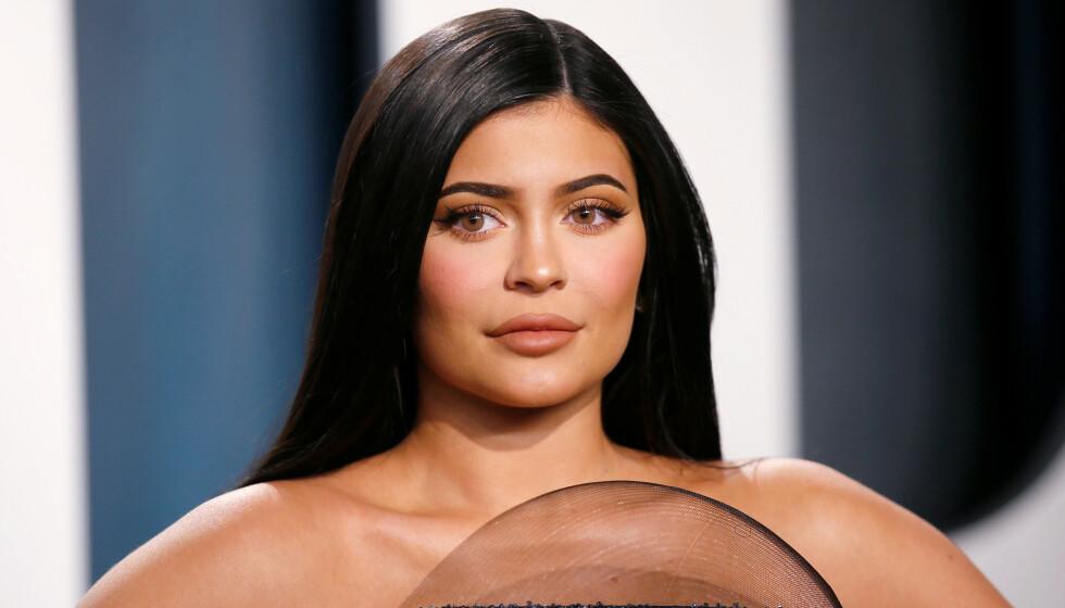 INNBRUDD: Kylie Jenner var ikke langt unna å bli offer for en innbrusstyv. Det var imidlertid før tyven ble stoppet av en basketballstjerne. Foto: Danny Moloshok / Reuters / NTB