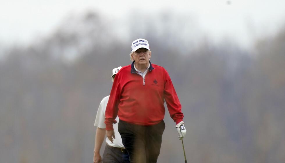 RIKERE LIV: - Jeg er sikker på at den påtroppende presidenten i USA, Joe Biden, har et rikere liv enn det den avtroppende president Trump har med alle sine eiendeler, skriver innsenderen. Foto: Manuel Balce Ceneta / AP / NTB