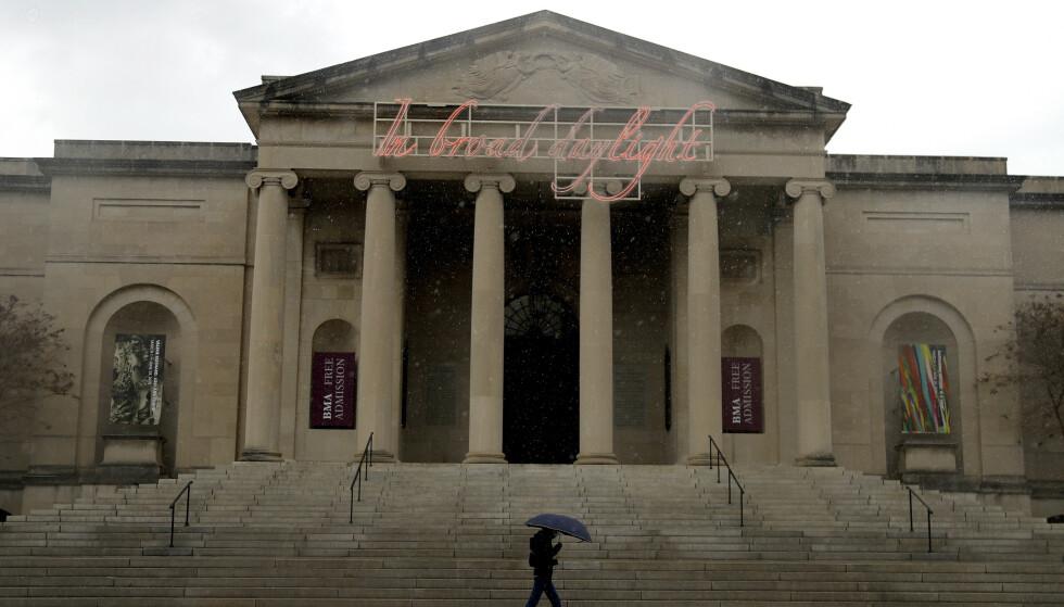 KUNSTPAUSE: Det blir foreløpig ingen auksjon hos kunstmuseet i Baltimore. Foto: Julio Cortez / AP / NTB