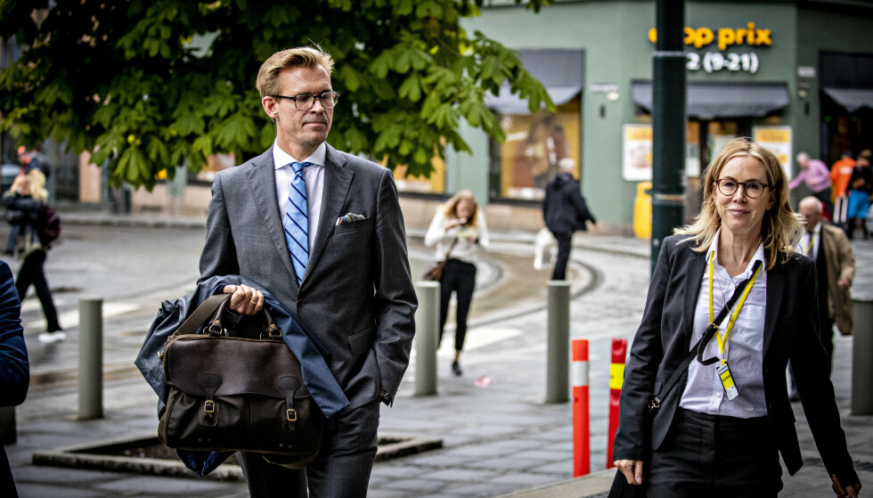 AKTORATET: Statsadvokatene Frederik G. Ranke og Marit Formo mener Laila Bertheussen bør dømmes til fengsel i to år. Foto: Bjørn Langsem / Dagbladet