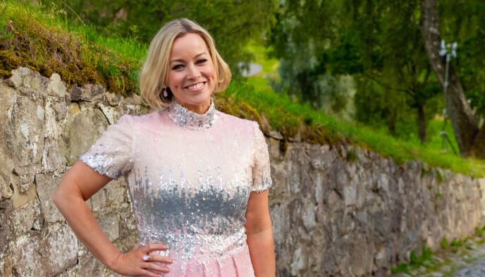 FORELSKET: Hanne Sørvaag bekrefter at hun har fått kjæreste, etter å ha vært singel en lang periode. Foto: Thomas Andersen / TV 2