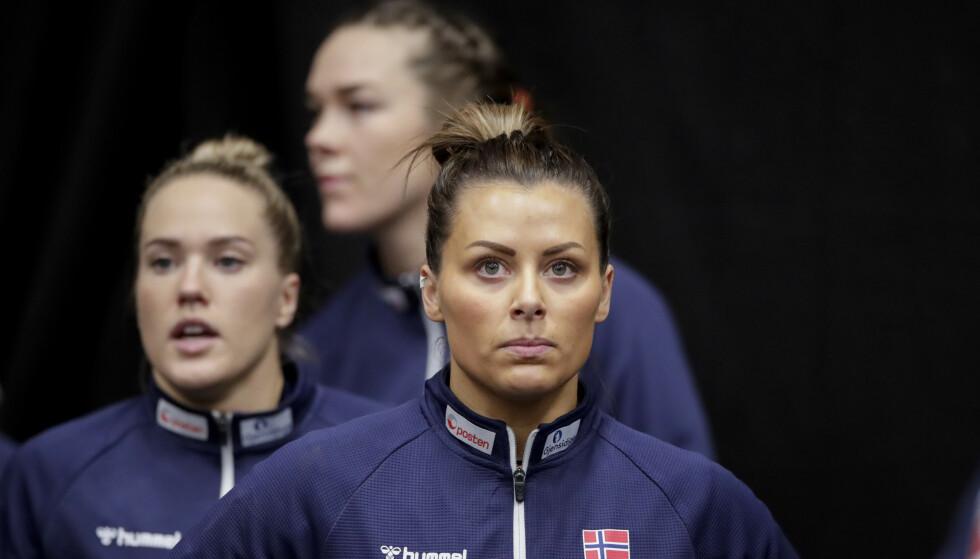 STERKERE: Nora Mørk mener årets utgave av håndballjentene er bedre enn på flere år. Foto: Vidar Ruud / NTB