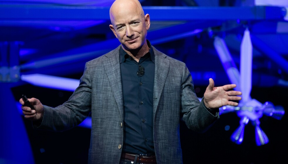 HACKET: Amazon-eier Jeff Bezos. Foto: NTB