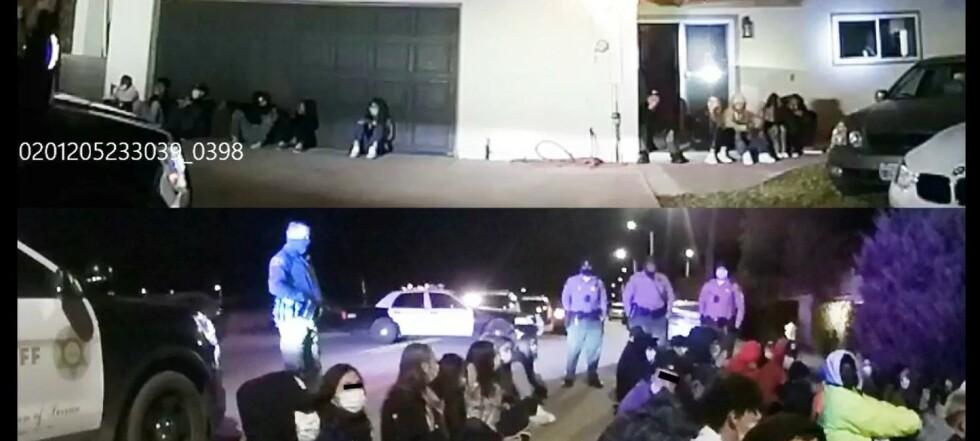 158 pågrepet på «superspreder-fest»
