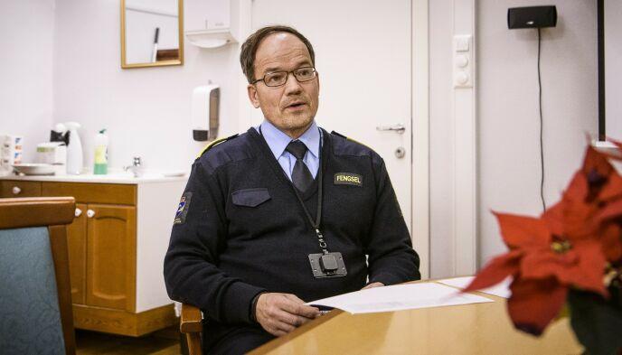 VURDERER ANMELDELSE: Fengselsjef Nils Leyell Finstad sier at de vurderer å anmelde hendelsen. Foto: Lars Eivind Bones / Dagbladet