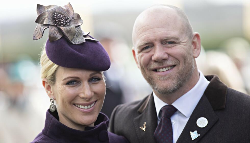 GRAVID: Zara og Mike Tindall skal bli trebarnsmor og - far. Foto: Rupert Hartley / Shutterstock / NTB