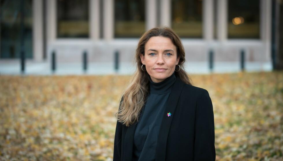 VIKTIG: Generalsekretær Ingrid Stenstadvold Ross hilser ny viten om kreft og corona velkommen. Foto: Jorunn Valle Nilsen