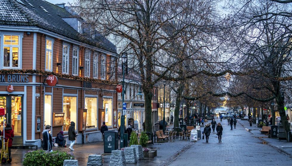 BEKYMRET: Trondheim opplevde smitterekord torsdag. Nå tar de munnbind-grep. Foto: Hans Arne Vedlog / Dagbladet