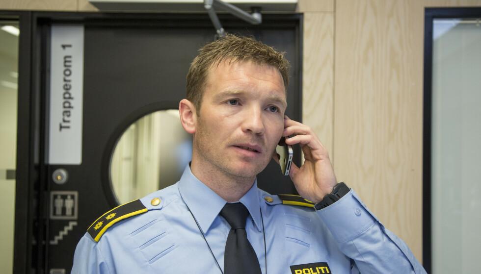 AKSJONERTE: Politiet aksjonerte mot elleve personer i sommer, forteller Yngve Myrvoll i politiet Foto: Jan-Morten Bjørnbakk / NTB