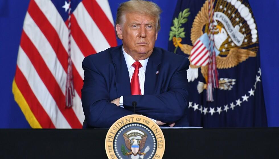 ADVARSEL: Også i USA har Weimar-referansen piplet fram igjen, denne gang som advarsel. Er en repetisjon av Hitler tenkelig? spør Bernt Hagtvet. Foto: Mandel Ngan / AFP / NTB