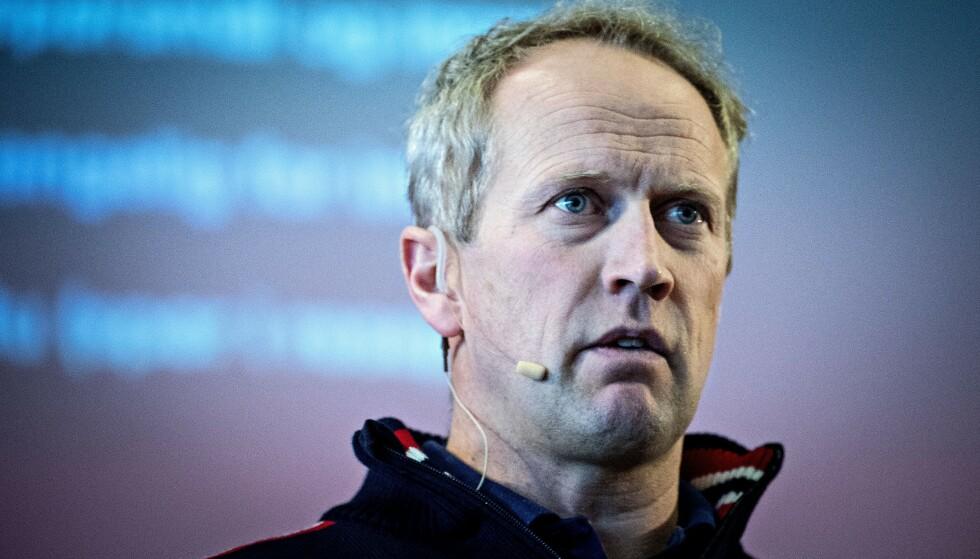 TAR OVER: Espen Bjervig. Foto: Bjørn Langsem