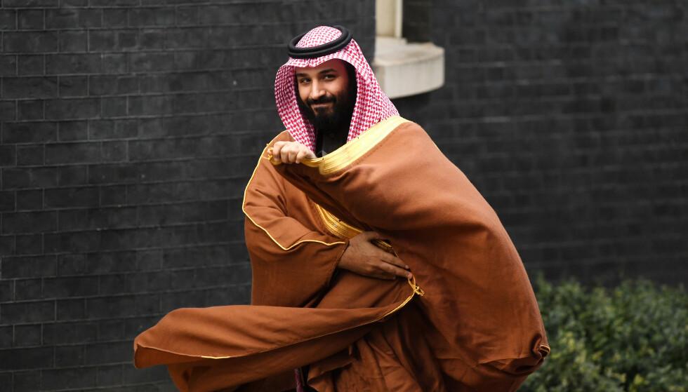 NOT FOND OF CRITICISM: The Saudi Arabian Crown Prince, Mohammed bin Salman. Photo: NTB