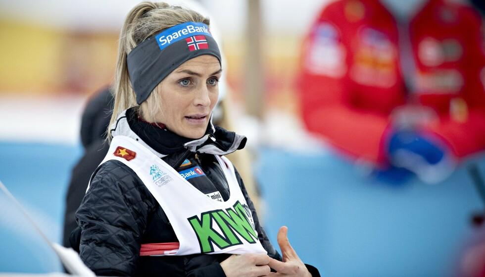 FOKUS PÅ SKI: Men Therese Johaug sier at hun må ta stilling til noen løpetilbud. Foto: Bjørn Langsem