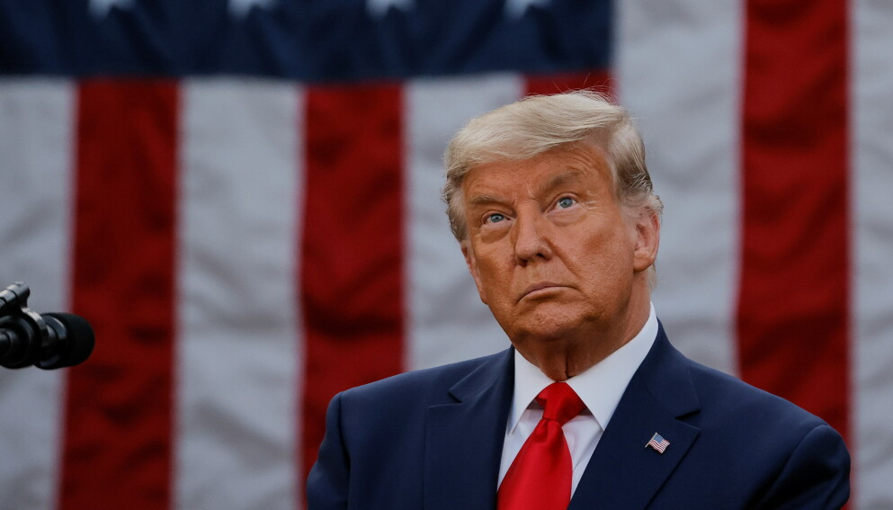 FORTSETTER KAMPEN: Siden presidentvalget i USA 3. november, har president Donald Trump og hans støttespillere gjentatte ganger nektet å anerkjenne valgresultatet. Foto: Reuters/NTB.