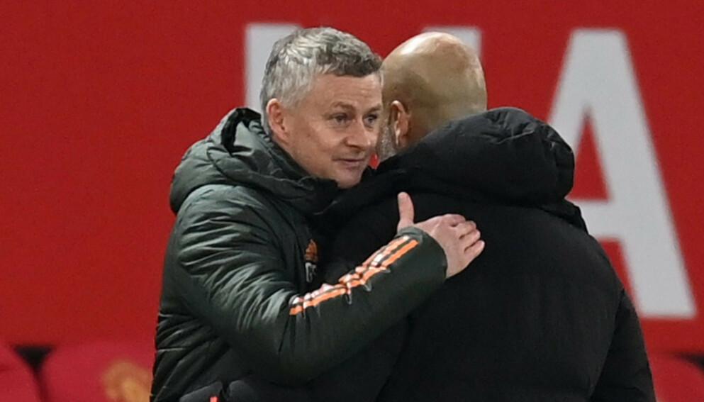 SKUFFET: Flerer eksperter var skuffer over prestasjonen til to Manchester-lagene i kveldens derby. Foto: NTB