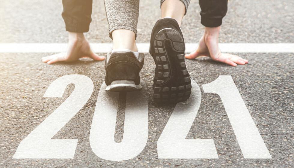 FRISK START: Fra årsskiftet 2020/21 trer det i kraft en lang rekke endringer som berører folks hverdagsliv. Foto: NTB scanpix