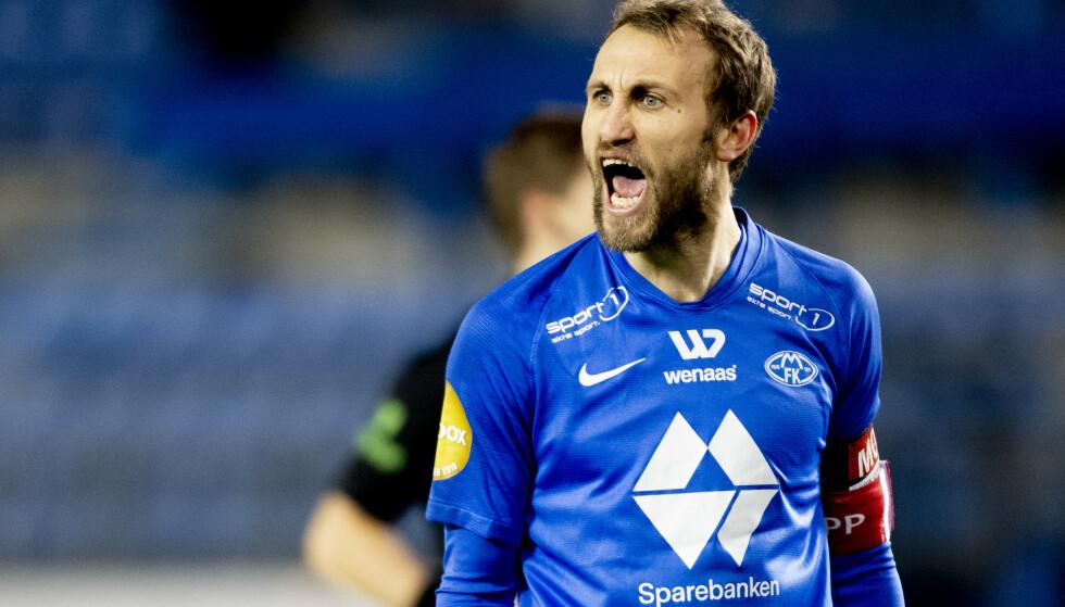 TØFF TREKNING: Magnus Wolff Eikrem og Molde skal møte Granada i Europa League. Foto: Svein Ove Ekornesvåg / NTB