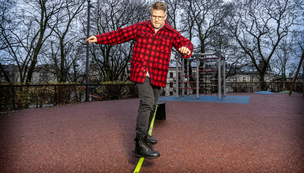 BARNEBOK: Håvard Lilleheie er aktuell med barnebok. Foto: Hans Arne Vedlog / Dagbladet