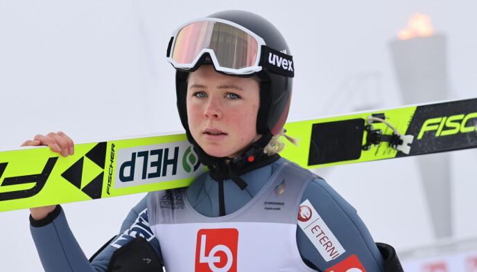 ENER: Maren Lundby. Foto: Geir Olsen / NTB