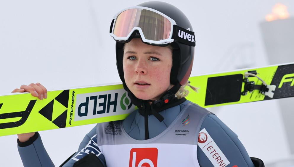 NEDTUR: Maren Lundby. Foto: Geir Olsen / NTB