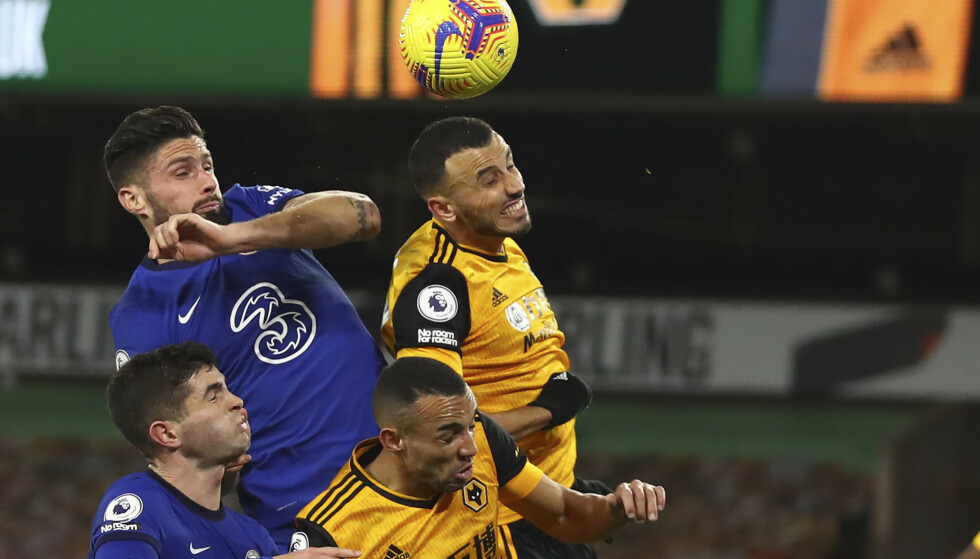 VANT DUELLEN: Wolverhampton slo Chelsea 2-1. Foto: NTB