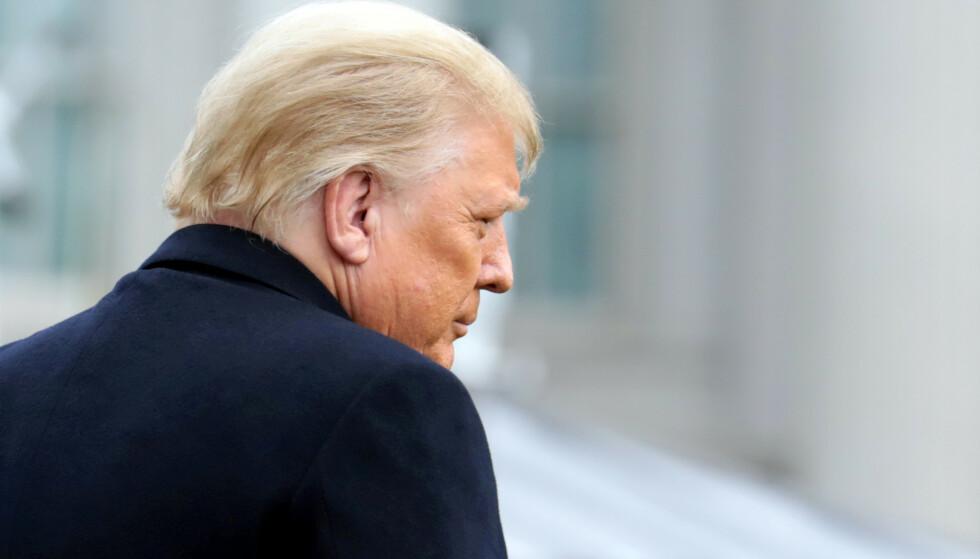 ETTERFORSKES: USAs president, Donald Trump, er under etterforskning i New York. Foto: REUTERS/Cheriss May/File Photo