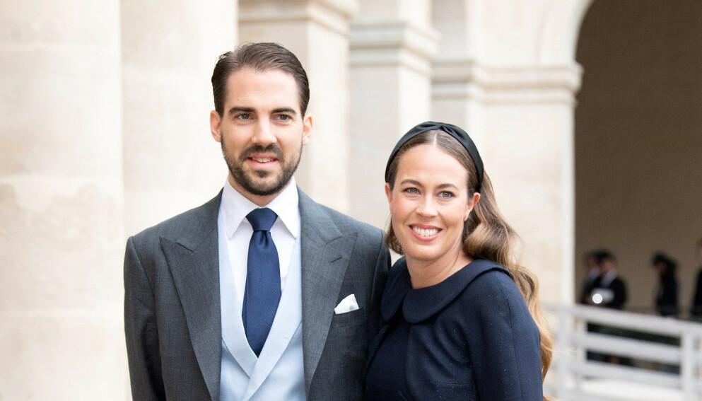 HEMMELIG GIFT: Prins Philippos fikk sin Nina Flohr i en liten og særs privat seremoni sist helg. Foto: Christophe Petit Tesson / EPA / NTB