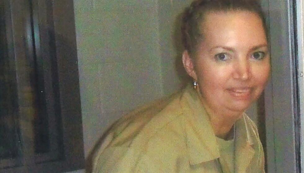 SKAL HENRETTES 12. JANUAR: Lisa Montgomery er dødsdømt og sitter fengslet i Forth Wort i Texas. Trump-regjeringens ordre om henrettelse skal gjennomføres med giftsprøyte i delstaten Indiana. Foto: USAs fengelsvesen/Reuters/NTB.