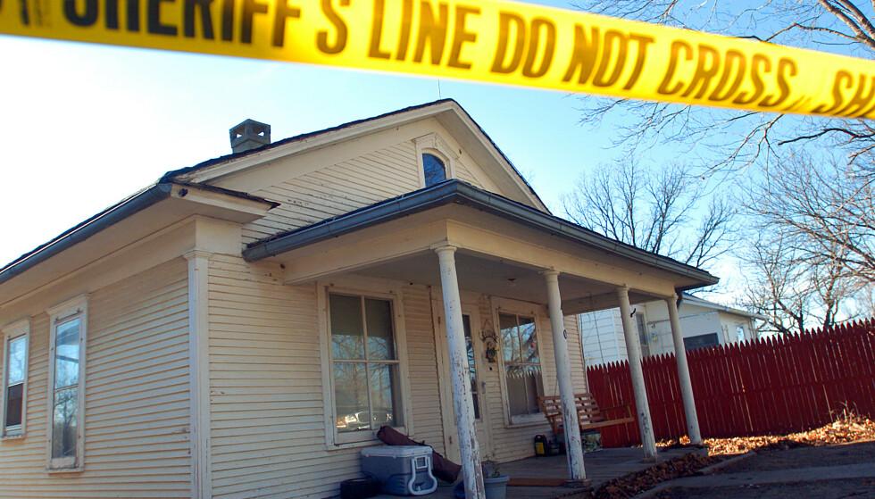 ÅSTED: Her ble Bobbie Jo Stinnett kvalt og drept 16. desember 2004. Foto: Todd Weddle, St. Joseph News-Press/AP/NTB.