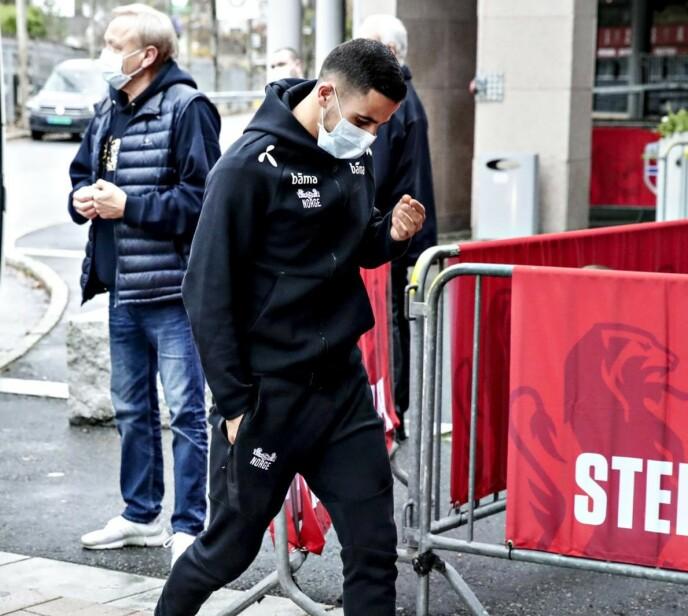 BELASTNING: At private helseopplysninger lekket ut, var en belastning for Omar Elabdellaoui. Foto: Bjørn Langsem