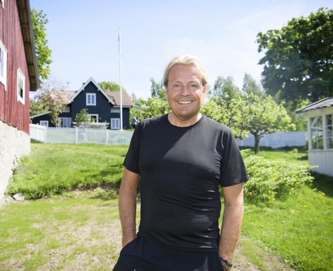 STERKE SMERTER: I etterkant av det tre meter lange fallet har Runar Søgaard slitt med mye smerter. Foto: Lars Eivind Bones / Dagbladet