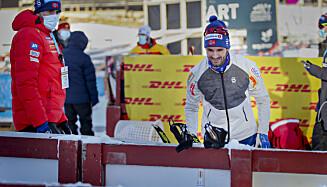 VIL GÅ RENN: Men Hans Christer Holund har stor respekt for valget det norske laget har tatt. Foto: Bjørn Langsem