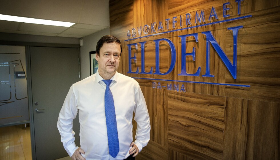 - VIKTIG DOM: Advokat John Christian Elden mener dommen er en viktig seier for ytringsfriheten. Foto: Henning Lillegård / Dagbladet