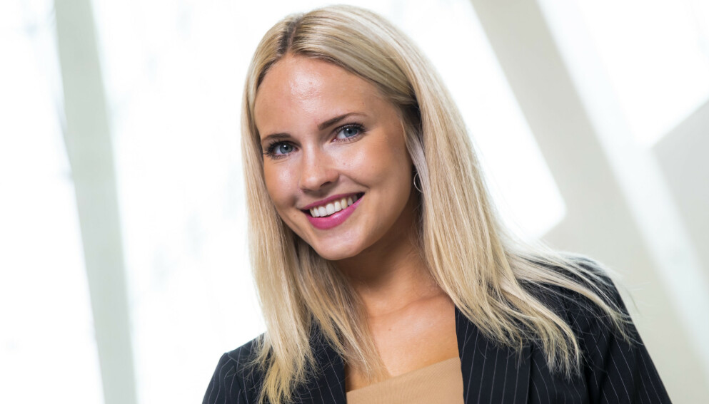 KLARE MÅL: Influenser Emilie Nereng er blant dem som lager en lang liste over nyttårsforsett hvert år. Foto: Håkon Mosvold Larsen / NTB