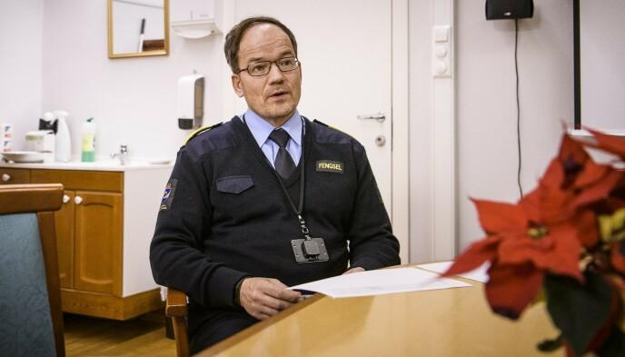 BEKREFTER: Fengselsleder Nils Leyell Finstad bekrefter at det har vært en voldsepisode, men vil ikke utdype dette ytterligere. Foto: Lars Eivind Bones / Dagbladet