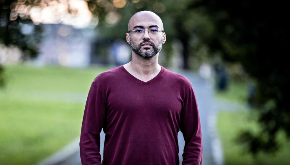 SAUDI CRITIC: Iyad el-Baghdadi, journalist and activist, lives in Norway. Photo: Bjørn Langsem