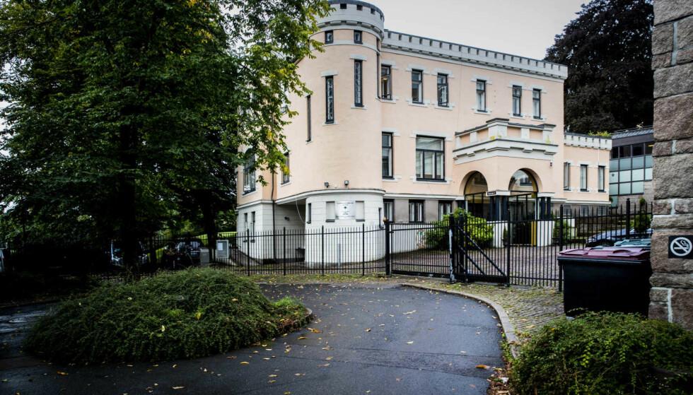 DECLINES A MEETING WITH DAGBLADET: The Saudi Arabian Embassy in Oslo. Photo: Bjørn Langsem