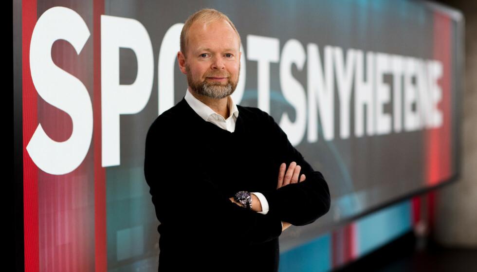 BEKLAGER: TV 2s sportsredaktør, Vegard Jansen Hagen, beklager bildebruken. Foto: TV 2
